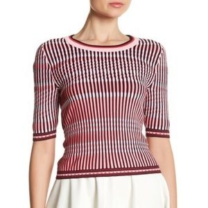 Topshop Mini Dash Stitch Crop Top NWOT